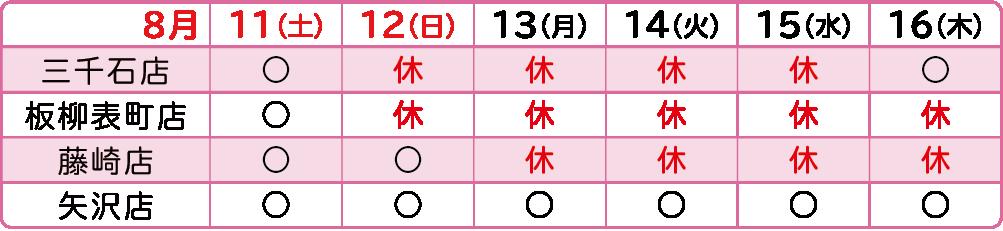 2018年お盆-浪板藤取次店